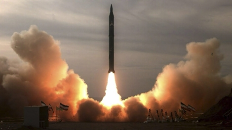 Iran Long Range Missile Test