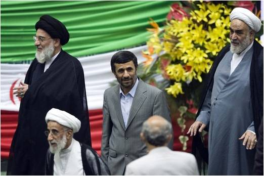 Iranian President Mahmoud Ahmadinejad Says That The United States Is Attempting To Block The Arrival Of The Mahdi
